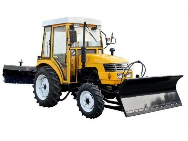 аренда трактор мтз со щеткой