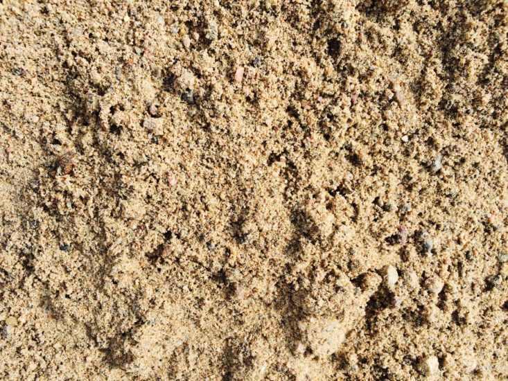 купить карьерный песок с доставкой в спб