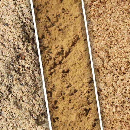 карьерный намывной речной песок с доставкой