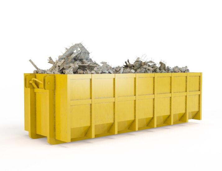 вывоз мусора контейнером пухто